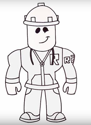 Как нарисовать Роблокс
