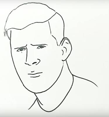 Рисовать футболиста месси