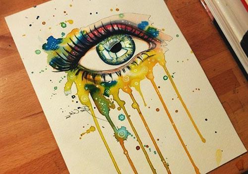 Рисование поэтапное гуашью одним цветом 187