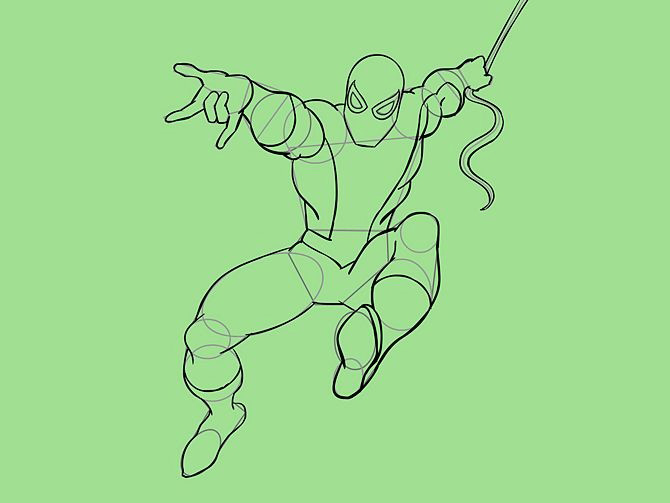 670px-Draw-Spider-Man-Step-19