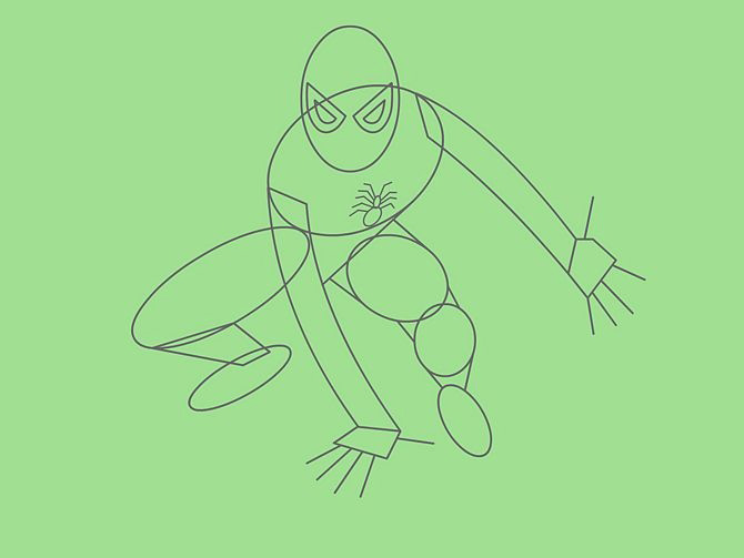 670px-Draw-Spider-Man-Step-6