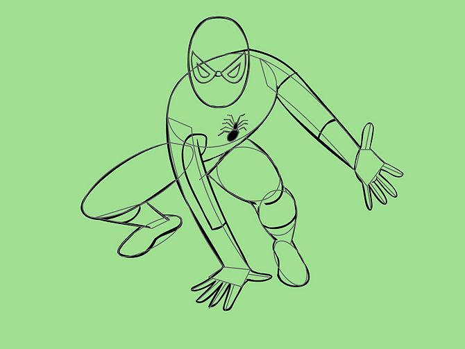 670px-Draw-Spider-Man-Step-7