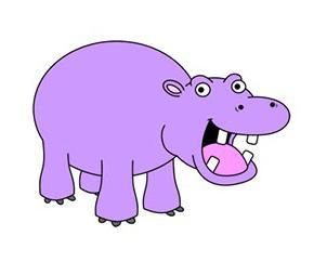 как рисовать бегемотов поэтапно