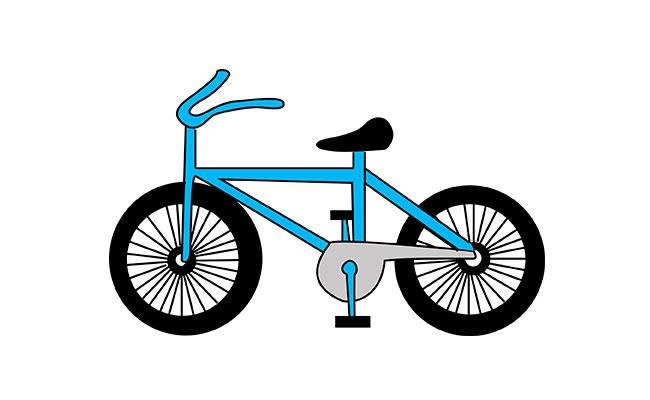На велосипед рисунки