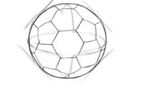 Мяч учится рисовать