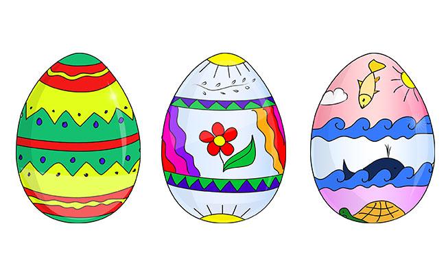 Что рисовать на пасхальных яйцах