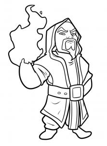 Как нарисовать Clash Of Clans