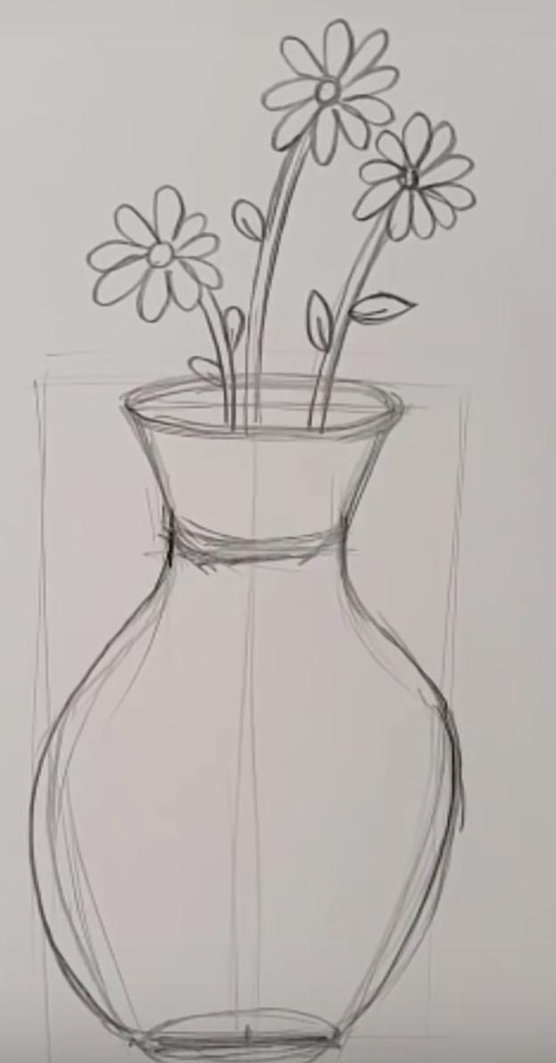 Как нарисовать девушку в полный рост карандашом