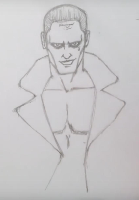 картинки джокера для срисовки
