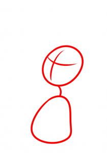 Как нарисовать ребенку розу видео