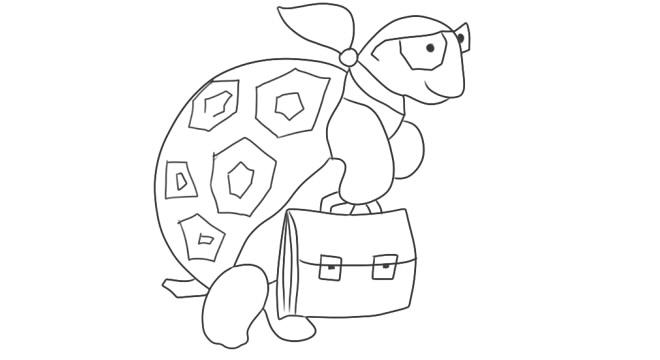 Черепахой знакомство с мудрой вопросиком муравьем и