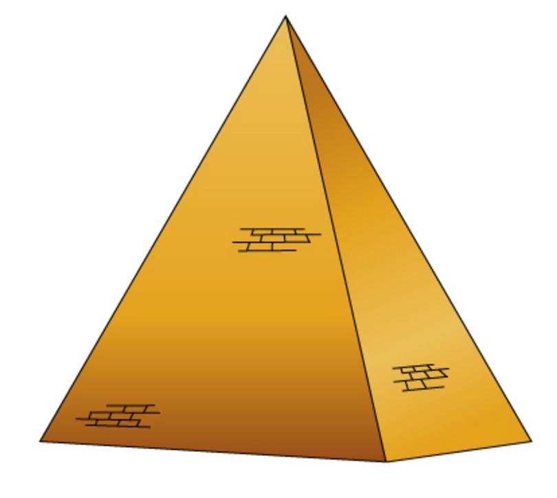 Рисунки египетских пирамид