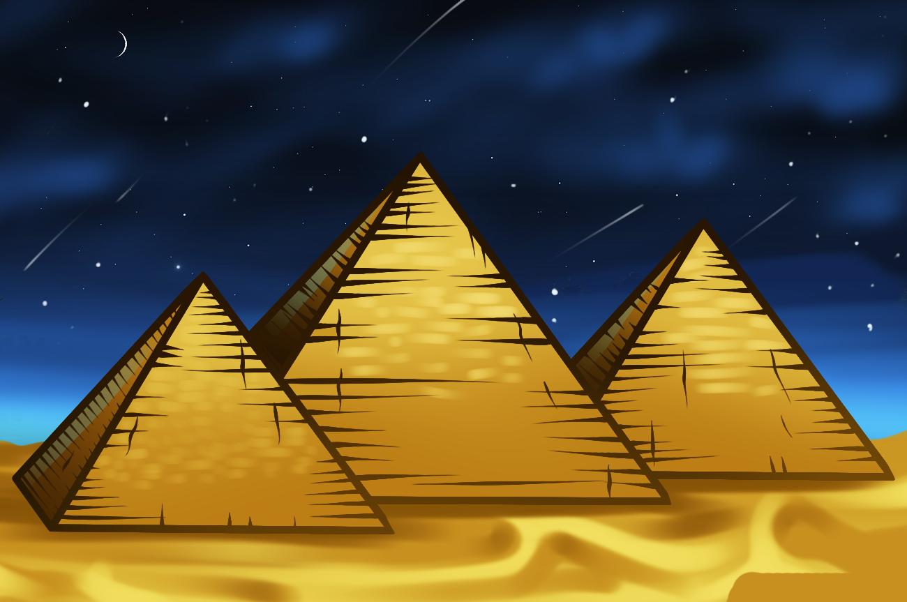 Рисунок картинка пирамиды