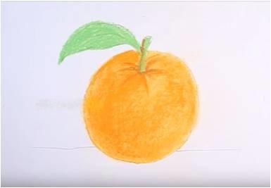 Как в цвете нарисовать яблоко