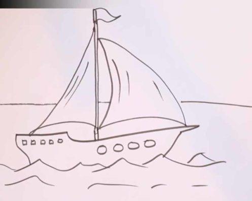 Как на�и�ова�� ко�абл� ка�анда�ом по��апно �и��ем дома