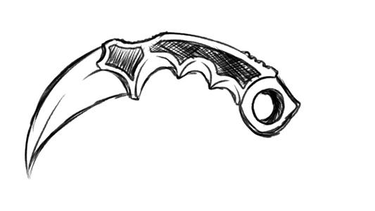 Картинка нож для детей