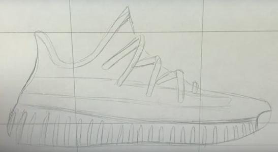 Кроссовки с рисунком